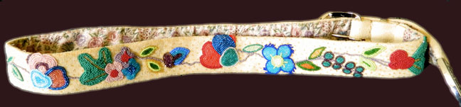 Woodlands Beaded Belt