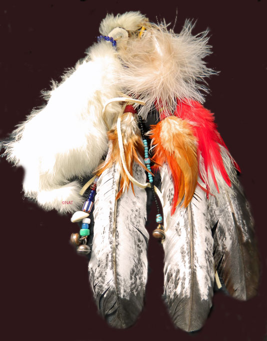 Plains Indian hair ornament