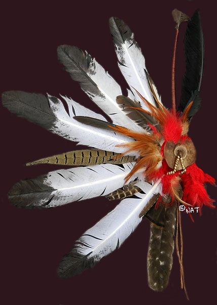 Sioux hair ornament
