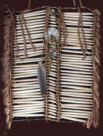 Plains Indian Breastplate