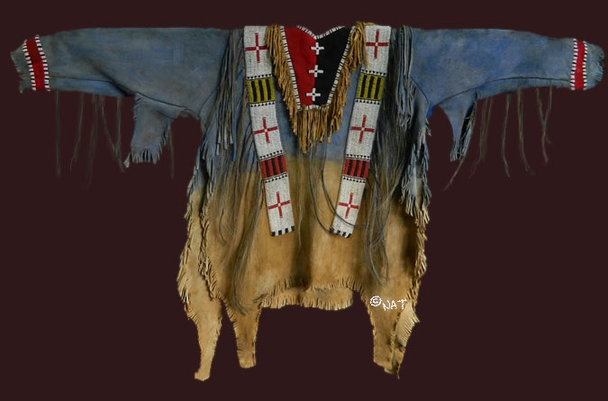 Native American (Plains Indian) war shirt