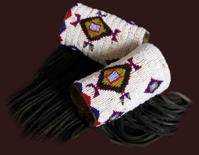 Beaded Sioux Cuffs