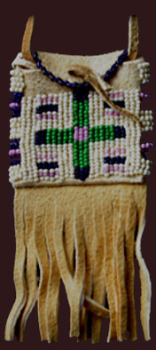 plains indian pouch
