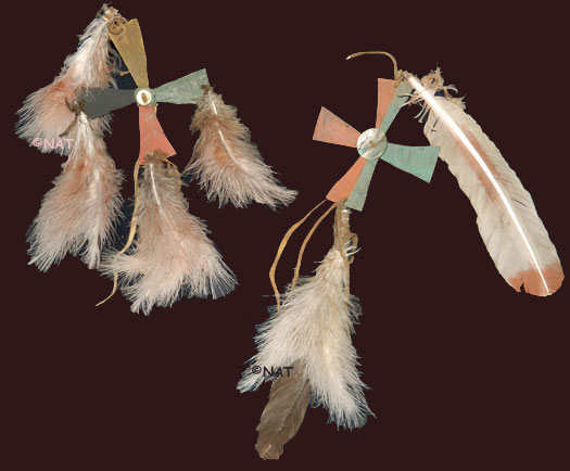 Plains Indian Hair Ornaments