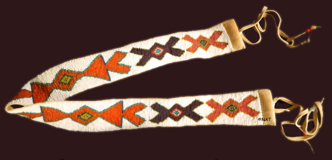 Ojibwe Beaded Belt