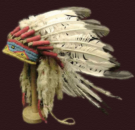 Sitting Bull's Headdress / War Bonnet